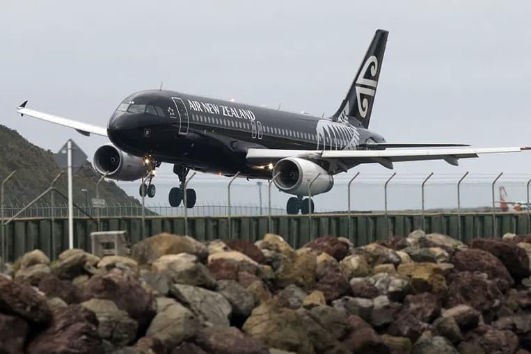Aeroporto internazionale di Wellington, Nuova Zelanda